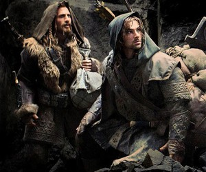 the hobbit, kili, and fili image