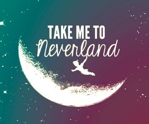 neverland, wallpaper, and peterpan image