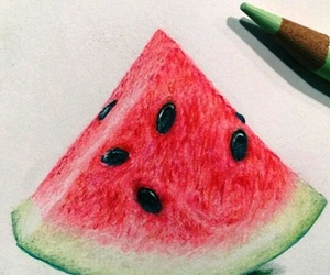 art, fruit, and inspiration image