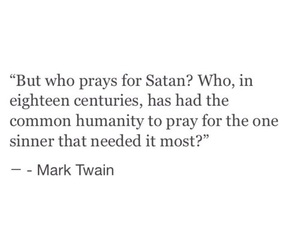 quotes, satan, and mark twain image