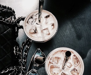 coffee, drink, and black image