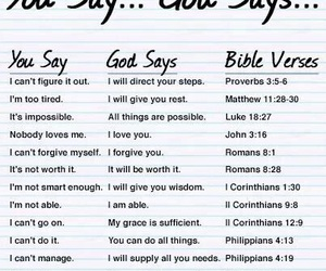 god, bible, and quotes image