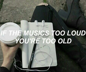 music, grunge, and quote image