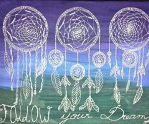 dessin, dreamcatcher, and peinture image