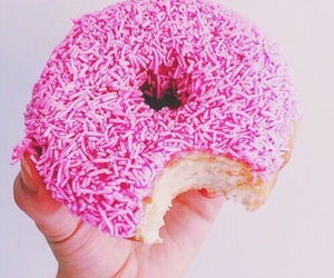 donut and pink image