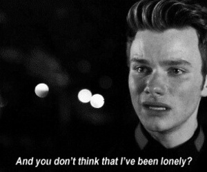 glee, lonely, and quotes image