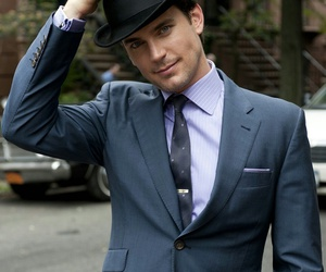 matt bomer, neal caffrey, and white collar image
