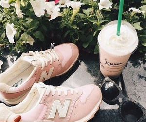 pink, new balance, and shoes image