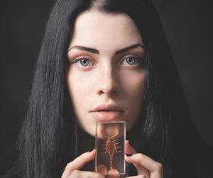 beautiful, black beauty, and black hair image