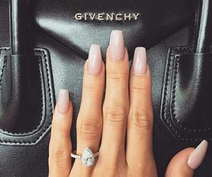 nails, ring, and Givenchy image