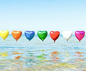beautiful, colorful, and water image