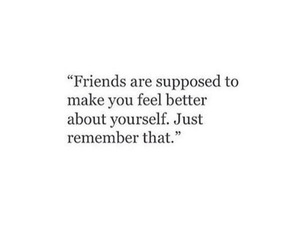 quote, friends, and sayings image