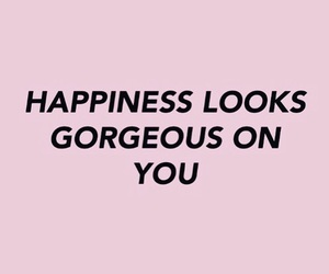 happiness, quotes, and pink image
