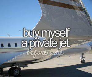 before i die, jet, and quote image