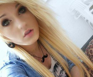 blond, emo, and girls image