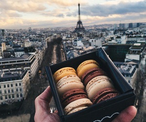 paris, food, and macaroons image