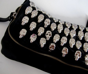 bag, skull, and style image