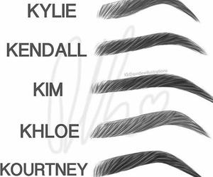 Kendall, khloe, and kim image