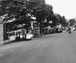 bandung, blackandwhite, and city image