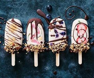 ice cream, food, and chocolate image