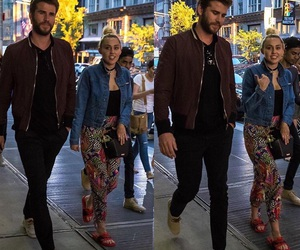 miley cyrus and liam image