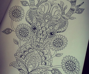 beautiful, drawing, and Paper image