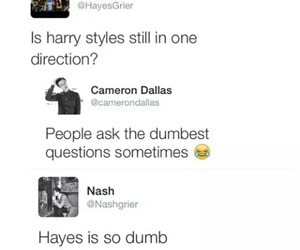 Harry Styles, cameron dallas, and cameron image