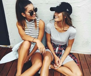 girl, friends, and goals image