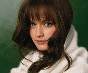 alexis bledel, beauty, and blue image