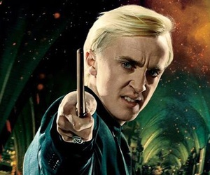 harry potter, malfoy, and draco image