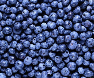 blueberry, berries, and blue image