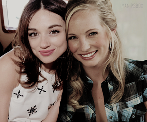 candice accola, actress, and bff image