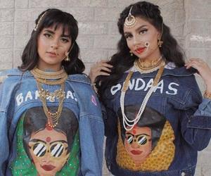 asian, bindi, and girls image