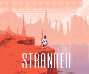 astronaut, pixel, and pixel art image