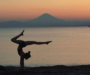 fit, handstand, and healthy image
