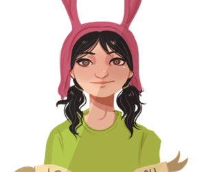 bobs burgers and louise belcher image