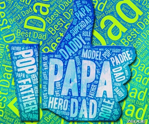 blue, dad, and daddy image
