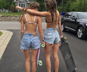 friendship, friends, and girls image