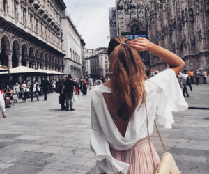 city, style, and girl image