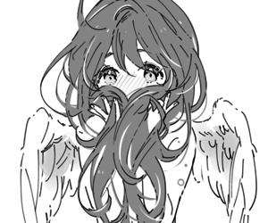 manga, angel, and anime image