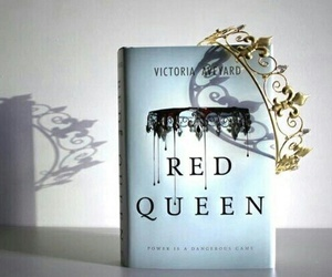 book, series, and red queen image