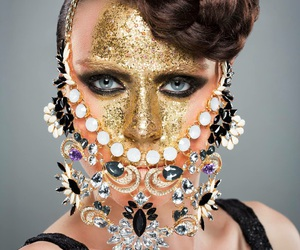 fashion, makeup, and beaute image