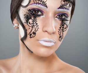 beauty, make-up, and maquillage image