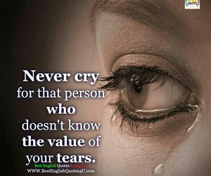 tears and your cry image