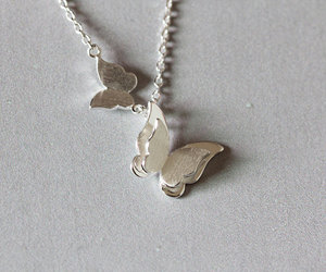 butterfly, charms, and handmade image