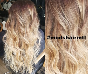 blond, brunette, and hair image