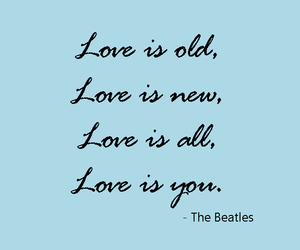 beatles, quotes, and Lyrics image