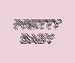 pink and pretty baby image