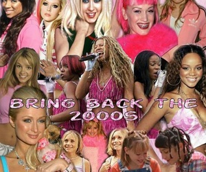 2000s, britney spears, and rihanna image