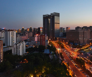 beijing, buildings, and china image